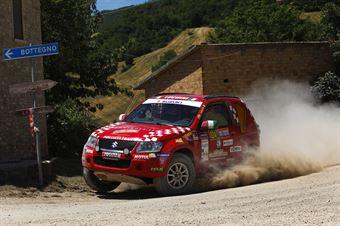 Andrea Luchini, Piero Bosco, Suzuki New Gran Vitara T2 #324, Island Motorsport, CAMPIONATO ITALIANO CROSS COUNTRY E SSV