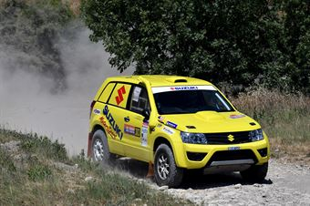 Manuel Mengozzi, Fabio Graffieti, Suzuki Gran Vitara T1 #303, CAMPIONATO ITALIANO CROSS COUNTRY E SSV