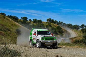 Federico Paloschi, Francesco Rasini, Daihatsu Feroza TH2 #332, CAMPIONATO ITALIANO CROSS COUNTRY E SSV