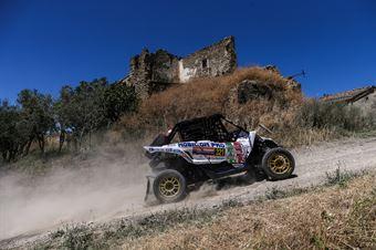 Maurizio Pederzani, Roberto Mometti, Yamaha YXZ 1000R TM2 #321, CAMPIONATO ITALIANO CROSS COUNTRY E SSV