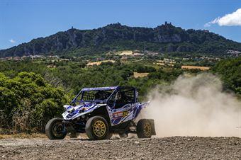 Valentino Rocco, Alessandra Magnoni, Yamaha XZ1 TM2 #314, CAMPIONATO ITALIANO CROSS COUNTRY E SSV
