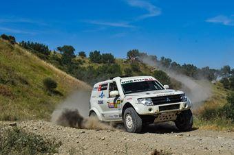 Andrea Schiumarini, Cesare Rickler, Mitsubishi Pajero WRC+ T1 #304, R Team, CAMPIONATO ITALIANO CROSS COUNTRY E SSV