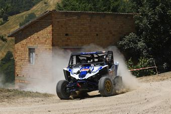 Amerigo Ventura, Mirko Brun, Yamaha YXZ 1000R TM  #312, CAMPIONATO ITALIANO CROSS COUNTRY E SSV
