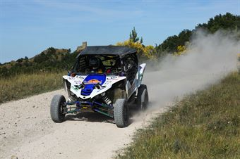 Marco Zini, Sandra Castellani, Yamaha YXZ 1000R TM2 #320, CAMPIONATO ITALIANO CROSS COUNTRY E SSV