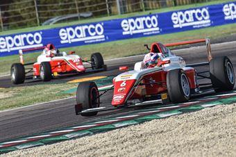 Montoya Sebastian, Tatuus F.4 T014 Abarth #6, Prema Powerteam, ITALIAN F.4 CHAMPIONSHIP POWERED BY ABARTH