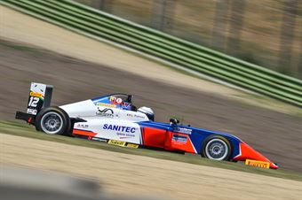 Patrese Lorenzo, Tatuus F.4 T014 Abarth #12, AKM Motorsport , ITALIAN F.4 CHAMPIONSHIP POWERED BY ABARTH