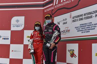 Women podium race 2, ITALIAN F.4 CHAMPIONSHIP POWERED BY ABARTH