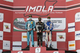 Rookie podium race 3, ITALIAN F.4 CHAMPIONSHIP POWERED BY ABARTH