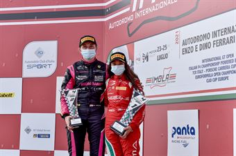 Women podium race 3 , ITALIAN F.4 CHAMPIONSHIP POWERED BY ABARTH