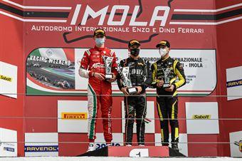 Rookie podium race 2, ITALIAN F.4 CHAMPIONSHIP POWERED BY ABARTH