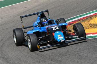 Wisnicki Piotr, Tatuus F.4 T014 Abarth #24, Jenzer Motorsport, ITALIAN F.4 CHAMPIONSHIP POWERED BY ABARTH