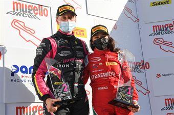 Podium F4 woman race 3 , ITALIAN F.4 CHAMPIONSHIP POWERED BY ABARTH