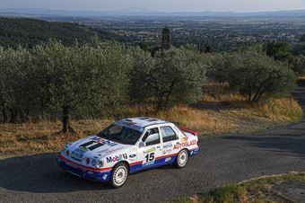 Astesana Fulvio Tortone Eraldo IT, FORD SIERRA COSWORTH 4X4 #15, CAMPIONATO ITALIANO RALLY AUTO STORICHE