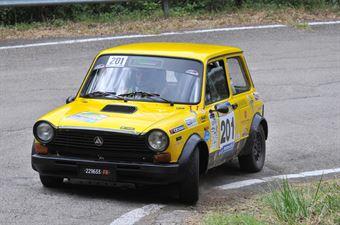Baldo Pietro Marcolini Davide, AUTOBIANCHI A112 ABARTH #201 , CAMPIONATO ITALIANO RALLY AUTO STORICHE