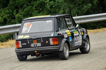 Bartoloni Stefano Leporati Giorgio Alberto, AUTOBIANCHI A112 ABARTH #207, CAMPIONATO ITALIANO RALLY AUTO STORICHE