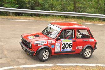 Battistel Luigi Rech Denis, AUTOBIANCHI A112 ABARTH #206 , CAMPIONATO ITALIANO RALLY AUTO STORICHE