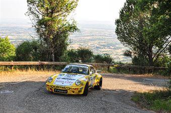 Bertinotti Marco Rondi Andrea, PORSCHE CARRERA #1, CAMPIONATO ITALIANO RALLY AUTO STORICHE