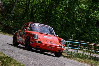 Bianco Cesare Casazza Stefano, PORSCHE 911S #43 , CAMPIONATO ITALIANO RALLY AUTO STORICHE