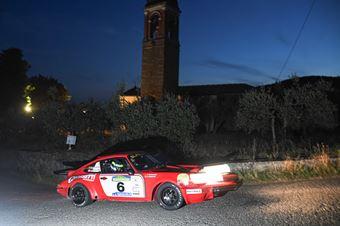 Bossalini Elia Ratnayake Harshana, PORSCHE CARRERA RS #6, CAMPIONATO ITALIANO RALLY AUTO STORICHE