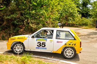 Bottazzi Alessandro Magnani Ilaria, OPEL CORSA GSI #35, CAMPIONATO ITALIANO RALLY AUTO STORICHE