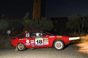 Bucci Riccardo Presa Elisa, ALFA ROMEO GTV #18, CAMPIONATO ITALIANO RALLY AUTO STORICHE