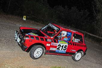 Dall'avo Marcogino Piras Manuel, AUTOBIANCHI A112 ABARTH #215, CAMPIONATO ITALIANO RALLY AUTO STORICHE