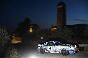 Da Zanche Lucio De Luis Daniele, PORSCHE 911 #4, CAMPIONATO ITALIANO RALLY AUTO STORICHE