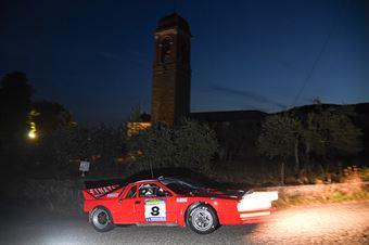 Finati Maurizio Codotto Martina, LANCIA 037 #8, CAMPIONATO ITALIANO RALLY AUTO STORICHE