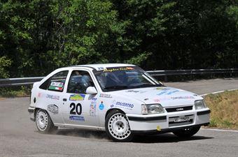 Frainer Marco Comunello Marco, OPEL KADETT GSI #20, CAMPIONATO ITALIANO RALLY AUTO STORICHE