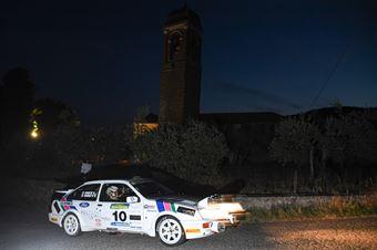Mariotti Riccardo Sanesi Sandro, FORD SIERRA COSWORTH #10, CAMPIONATO ITALIANO RALLY AUTO STORICHE