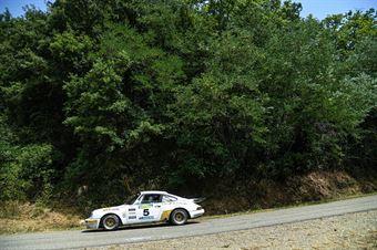 Negri Davide Coppa Roberto, PORSCHE CARRERA RS #5, CAMPIONATO ITALIANO RALLY AUTO STORICHE