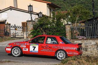 Pierangioli Valter Nesti Marco, FORD SIERRA COSWORTH 4X4 #7, CAMPIONATO ITALIANO RALLY AUTO STORICHE
