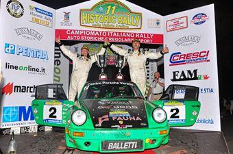 Podio Finale, CAMPIONATO ITALIANO RALLY AUTO STORICHE
