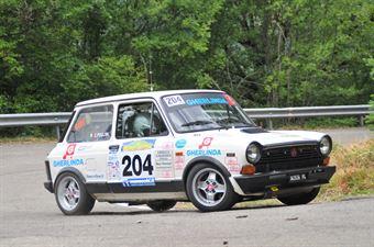 Sisani Giorgio Pollini Cristian, AUTOBIANCHI A112 ABARTH #204 , CAMPIONATO ITALIANO RALLY AUTO STORICHE