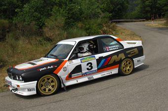 Valliccioni Marc Cardi Marie, BMW M3 #3, CAMPIONATO ITALIANO RALLY AUTO STORICHE