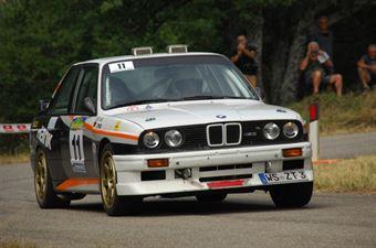 Thomas Zuppardi Neri Barbara, BMW M3 #11 , CAMPIONATO ITALIANO RALLY AUTO STORICHE
