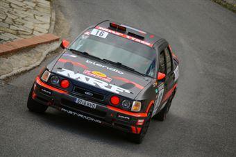 Daniel Alonso Villaron, Lopez Fernandez Alejandro (Ford Sierra Cosworth 4x4, #16, Past Racing), CAMPIONATO ITALIANO RALLY AUTO STORICHE