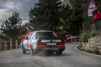 Daniel Alonso. Villaron, Lopez Fernandez Alejandro (Ford Sierra Cosworth 4x4, #16, Past Racing), CAMPIONATO ITALIANO RALLY AUTO STORICHE