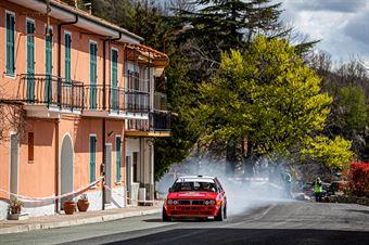 Paolo Maria Baggio, Flavio Zanella (Lancia Delta Integrale #14, TEAM BASSANO S.S.D.a.r.l.), CAMPIONATO ITALIANO RALLY AUTO STORICHE