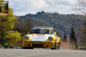 Marco Bertinotti, Andrea Rondi (Porsche 911 RSR #9, RALLY & CO SSD A R.L., CAMPIONATO ITALIANO RALLY AUTO STORICHE