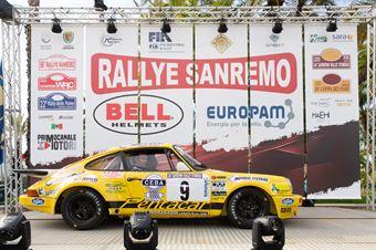Marco Bertinotti, Andrea Rondi (Porsche 911 RSR #9), CAMPIONATO ITALIANO RALLY AUTO STORICHE