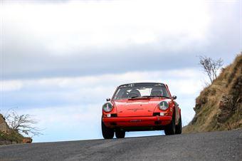 Cesare Bianco, Stefano Casazza (Porsche 911 #54, RALLY & CO SSD A R.L.), CAMPIONATO ITALIANO RALLY AUTO STORICHE