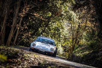Enrico Brazzoli, Maurizio Barone (Porsche 911 SC, #19), CAMPIONATO ITALIANO RALLY AUTO STORICHE