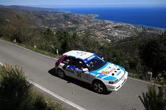 Stefan Burkart, Harald Korz(Mazda 323 GTX #34), CAMPIONATO ITALIANO RALLY AUTO STORICHE