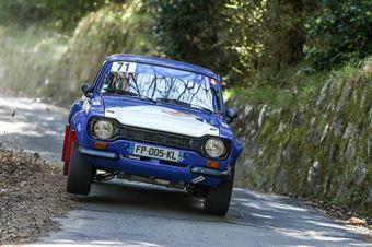 Bruno Clement, Florian Barral (Ford Escort RS2000 #71), CAMPIONATO ITALIANO RALLY AUTO STORICHE