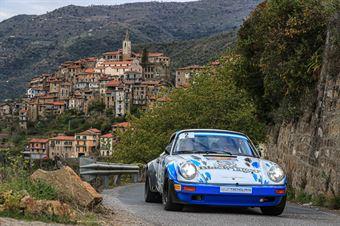 Lucio Da Zanche Daniele De Luis, Porsche 911 SC #2, CAMPIONATO ITALIANO RALLY AUTO STORICHE