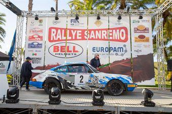 Lucio Da Zanche, Daniele De Luis (Porsche 911), CAMPIONATO ITALIANO RALLY AUTO STORICHE
