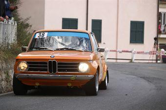 Carlo Fiorito, Bertonasco Marina (BMW 2002 Ti #38, RODODENDRI HISTORIC RALLY), CAMPIONATO ITALIANO RALLY AUTO STORICHE