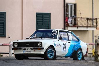 Graham Ernie   Graham Karen (Ford Escort RS1800 #37, FLEXIFLY RALLY TEAM), CAMPIONATO ITALIANO RALLY AUTO STORICHE