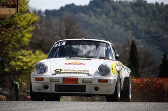 Anders Johnsen, Ingrid Johnsen(Porsche 911 RSR #18, TRACTIVE MOTORSPORT ), CAMPIONATO ITALIANO RALLY AUTO STORICHE